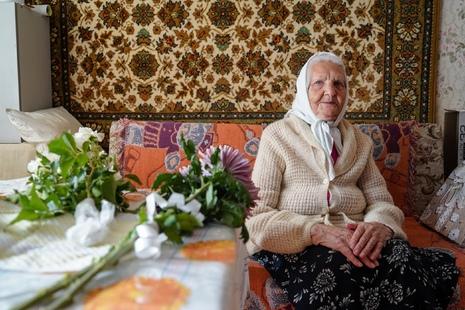 С юбилеем, Мария Егоровна!